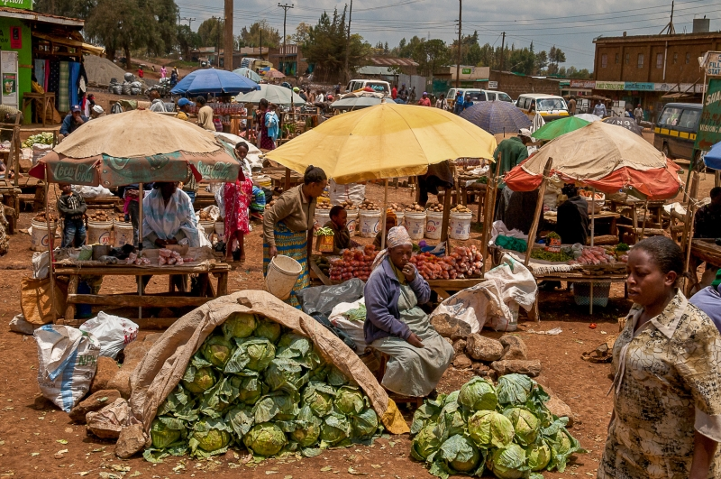 Market Day in Kenya